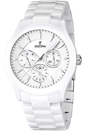 Festina Festina Unisex Analog Quarz Uhr mit Keramik Armband F16639/1