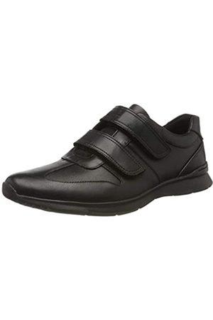 Clarks Clarks Herren Un Tynamo Turn Brogues, Schwarz (Black Leather Black Leather)