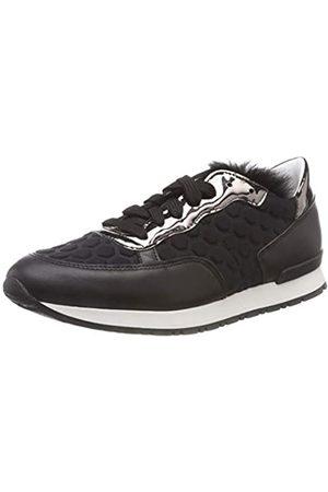 Pollini Damen Running Time Sneaker, (Black 00A)