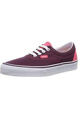 Vans Vans U Era Unisex-Erwachsene Sneaker, Rot (Heel Pop)Fig/P ET2)