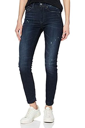 G-Star G-STAR RAW Damen 3301 High Waist Ripped Ankle Skinny Jeans