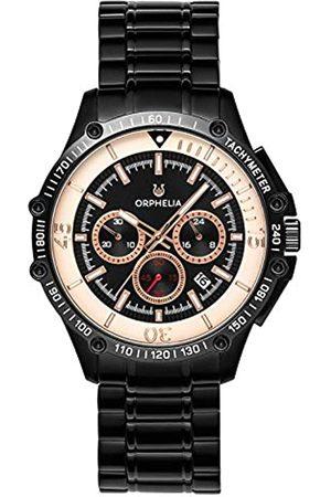 ORPHELIA ORPHELIA Herren Chronograph Quarz Uhr mit Edelstahl Armband OR82812