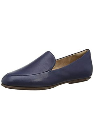 FitFlop Lena Loafers Slipper, (Midnight Navy 399)
