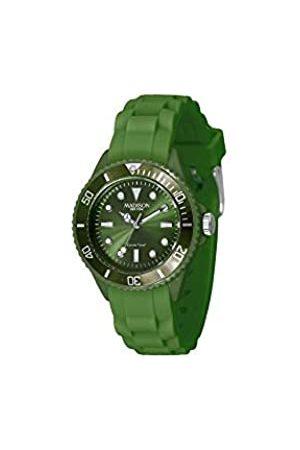 Madison New York Madison New York Unisex-Armbanduhr Candy Time Mini Analog Silikon L4167-18/3