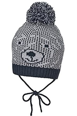 Sterntaler Sterntaler Mütze mit Bommel und Bindebändern, Alter: ab 6-9 Monate, Größe: 45