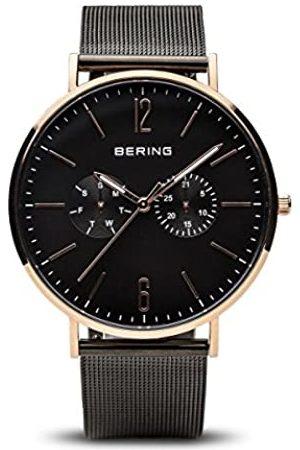 Bering BERINGHerrenAnalogQuarzUhrmitEdelstahlArmband14240-163
