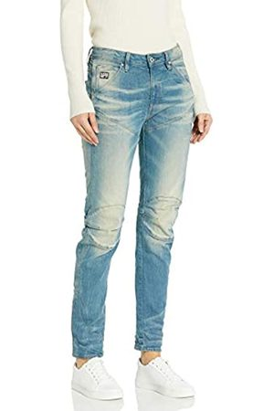 G-Star G-Star Damen 5620 3D Low Boyfriend Jeans, Blau (light aged)