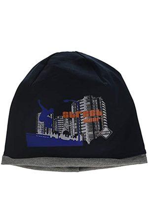 maximo Maximo Jungen Beanie Jersey, Rollrand, Bügelmotiv Mütze
