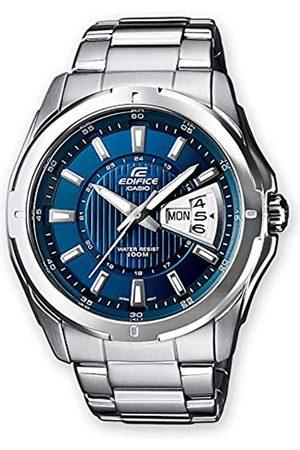 Casio Casio Edifice Herren Massives Edelstahlgehäuse und Edelstahlarmband Uhrenarmband EF-129D-2AVEF