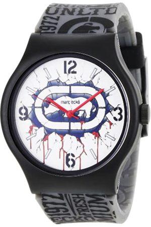 Marc Ecko Marc Ecko Damen Datum klassisch Quarz Uhr mit Harz Armband E06510M1