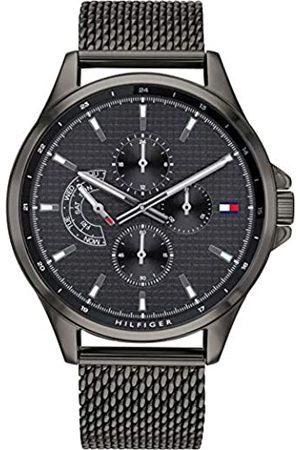 Tommy Hilfiger Tommy Hilfiger Herren Multi Zifferblatt Quarz Uhr mit Edelstahl Armband 1791613
