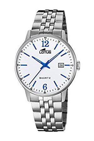 Lotus Lotus Herren Analog Quarz Uhr mit Edelstahl Armband 18694/2