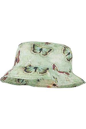 maximo Maximo Mädchen Hut Mütze, Grün (Hellgrün-Schmetterling 32)