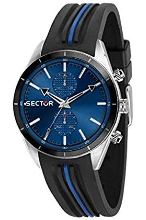 Sector No Limits Sector No Limits Herren Analog Quartz Uhr mit Silicone Armband R3251516004