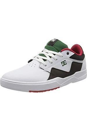 DC DC Shoes Herren Barksdale Skateboardschuhe, Weiß (White/Red/Black Xwrk)