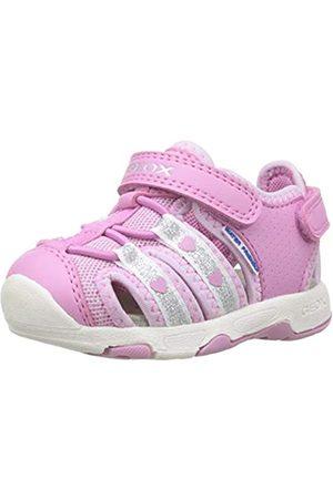 Geox Baby Mädchen B Multy Girl C Sandalen, Pink (Dk Pink C8006)