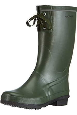 Viking Full KLAFF, Unisex-Erwachsene Gummistiefel, (Green)