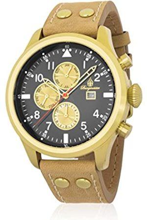 Burgmeister Burgmeister Herren Analog Quarz Uhr mit Leder Armband BM227-225