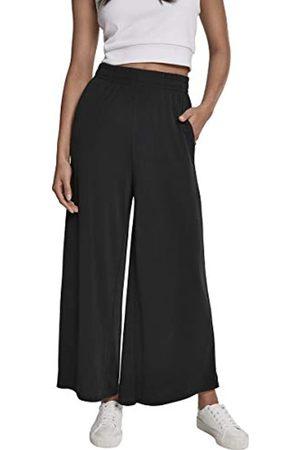 Urban classics Urban Classics Damen Ladies Modal Culotte Hose, Schwarz (Black 00007)