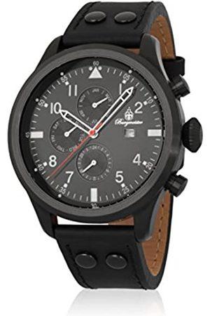 Burgmeister Burgmeister Herren Analog Quarz Uhr mit Leder Armband BM227-622