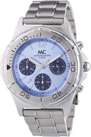 MC MC Timetrend Herren-Armbanduhr Chronograph Quarz Metallband 24840