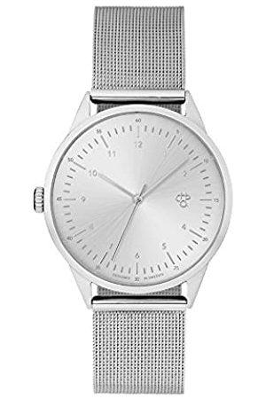 Chpo CHPO Unisex Erwachsene Analog Quarz Uhr mit Edelstahl Armband 14233AA