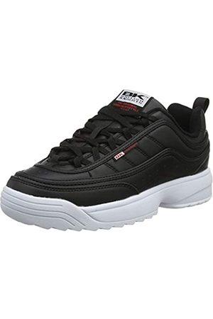 British Knights Damen IVY Sneaker, (Black/White/Red 02)