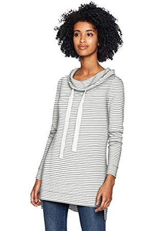 Daily Ritual Daily Ritual Supersoft Terry Funnel-Neck tunic-shirts