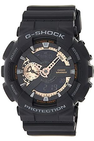 Casio Casio Herren Chronograph Quarz Uhr mit Resin Armband GA-110RG-1AER
