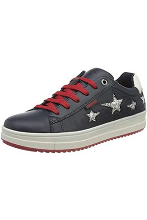 Geox Geox Mädchen J Rebecca Girl B Sneaker, Blau (Navy C4002)