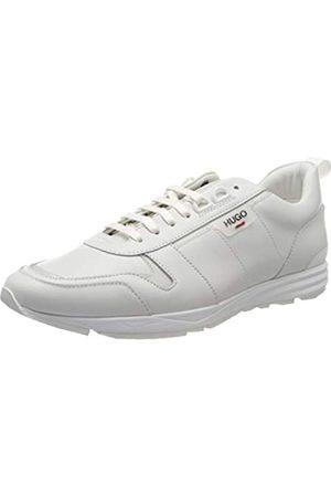 HUGO BOSS HUGO Herren Hybrid_Runn_lt 10214384 01 Sneaker, Weiß (White 100)