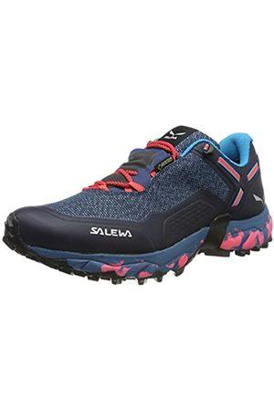 Salewa Salewa Damen WS Speed Beat GTX Traillaufschuhe, Blau (Patriot Blue/Fluo Coral 8638)
