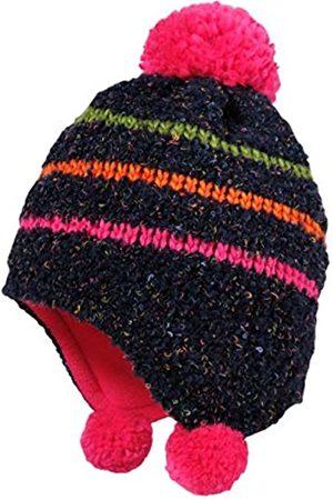 maximo Maximo Baby-Mädchen als Inkaform mit Bömmelchen und Ringel und Pompon Mütze