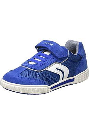 Geox Geox Jungen J POSEIDO Boy D Sneaker, Blau (Royal/Grey C0299)