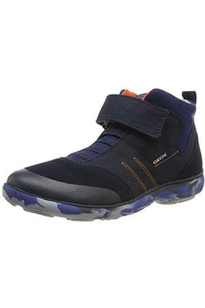 Geox Jungen J Nebula Boy B Hohe Sneaker, (Navy/ C0820)