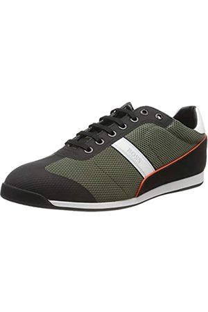 HUGO BOSS BOSS Glaze_Lowp_mewt, Herren Sneaker, Grün (Dark Green 308)