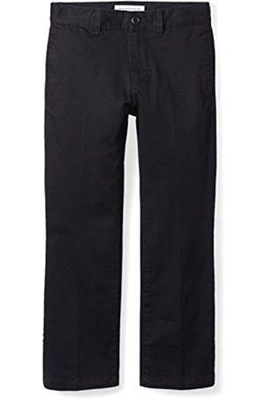 Amazon Jungen Uniform Straight-Fit Flat-Front Chino Khaki Pants