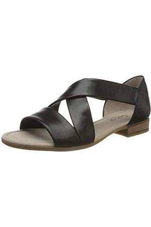 Gabor Shoes Damen Comfort Sport Riemchensandalen, Schwarz (Schwarz 27)