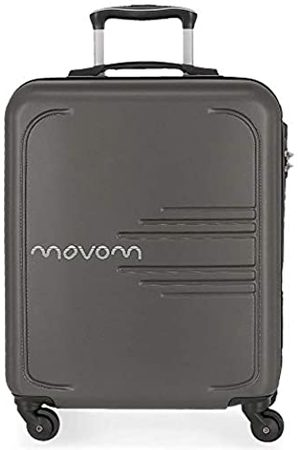 MOVOM Movom Flash Koffer 55 Centimeters 37 (Gris)
