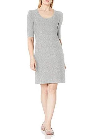 Daily Ritual Daily Ritual Cozy Knit Puff-Shoulder Dresses