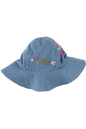 sigikid Mini - Mädchen Mütze Sonnenhut Denim Blumen