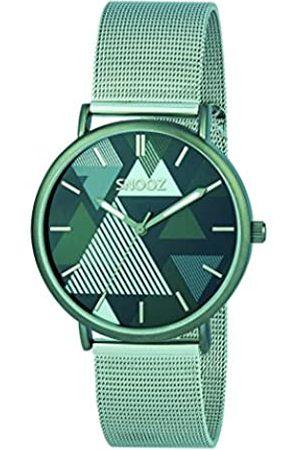 Snooz Snooz Herren Analog Quarz Uhr mit Edelstahl Armband Saa1042-68