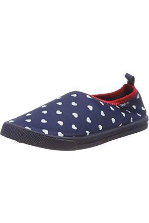 Playshoes Playshoes Mädchen UV-Schutz Slipper Herzchen Aqua Schuhe, Blau (Marine 11)