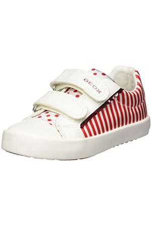 Geox Geox Baby Mädchen B Kilwi Girl A Sneaker, Rot (White/Red C0050)