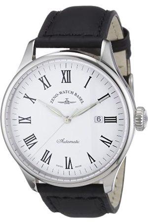 Zeno Zeno Watch Basel Herren-Armbanduhr XL Retro TRE Analog Automatik Leder 6273-i2-roem