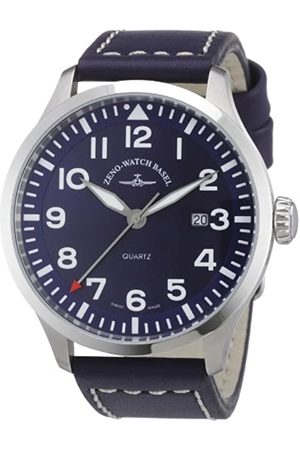 Zeno Zeno Watch Basel Herren-Armbanduhr XL Quarz Analog Leder 6569-515Q-a4