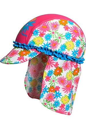 Playshoes Mädchen UV-Schutz Blumenmeer Mütze