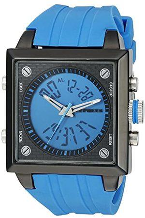 CEPHEUS CEPHEUS Herren-Armbanduhr Analog Digital Quarz Silikon CP900-633A