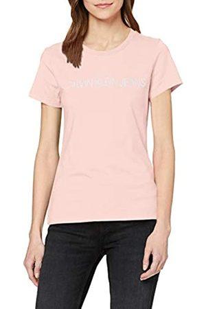 Calvin Klein Calvin Klein Jeans Damen Institutional Logo Slim Fit Tee T-Shirt