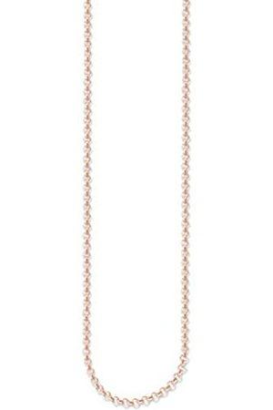Thomas Sabo THOMAS SABO Damen-Erbskette 925 Silber teilvergoldet 70 cm - KE1219-415-12-M